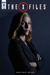The X-Files #4 (Photo Cover)