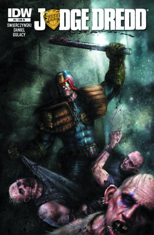 Judge Dredd #4 (10 Copy Cover)
