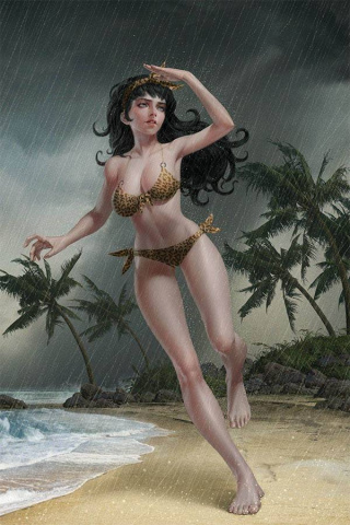 Bettie Page #2 (Yoon Virgin Cover)