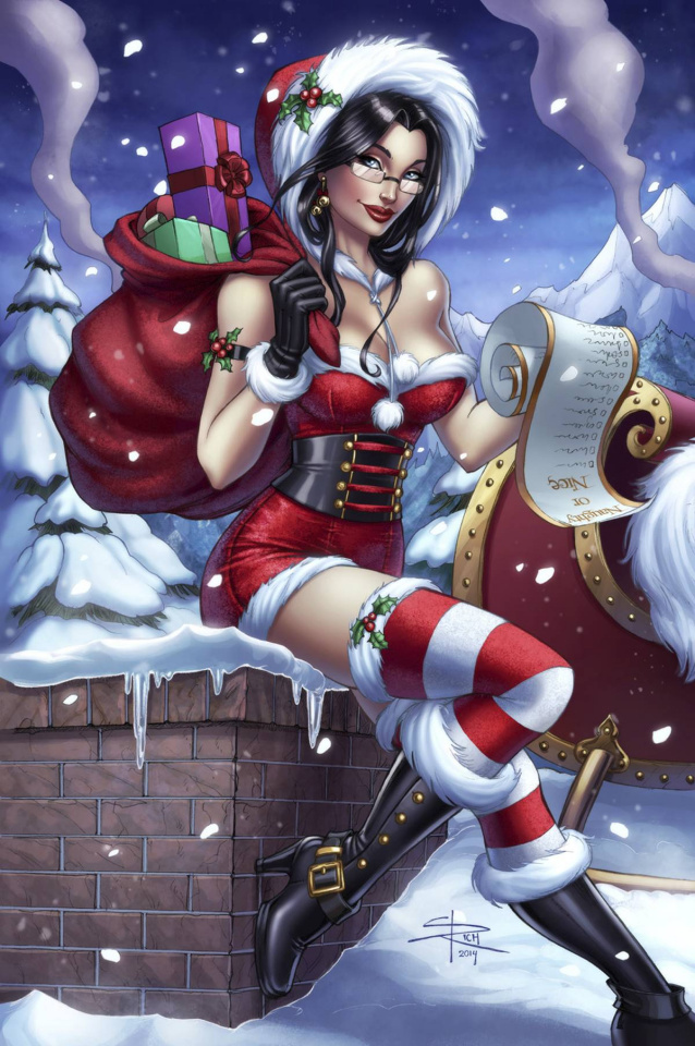 Grimm Fairy Tales 2014 Holiday Special (Rich Cover)