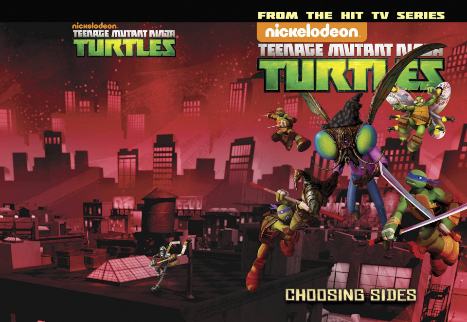 Teenage Mutant Ninja Turtles: New Animated Adventures Vol. 5: Choosing Sides