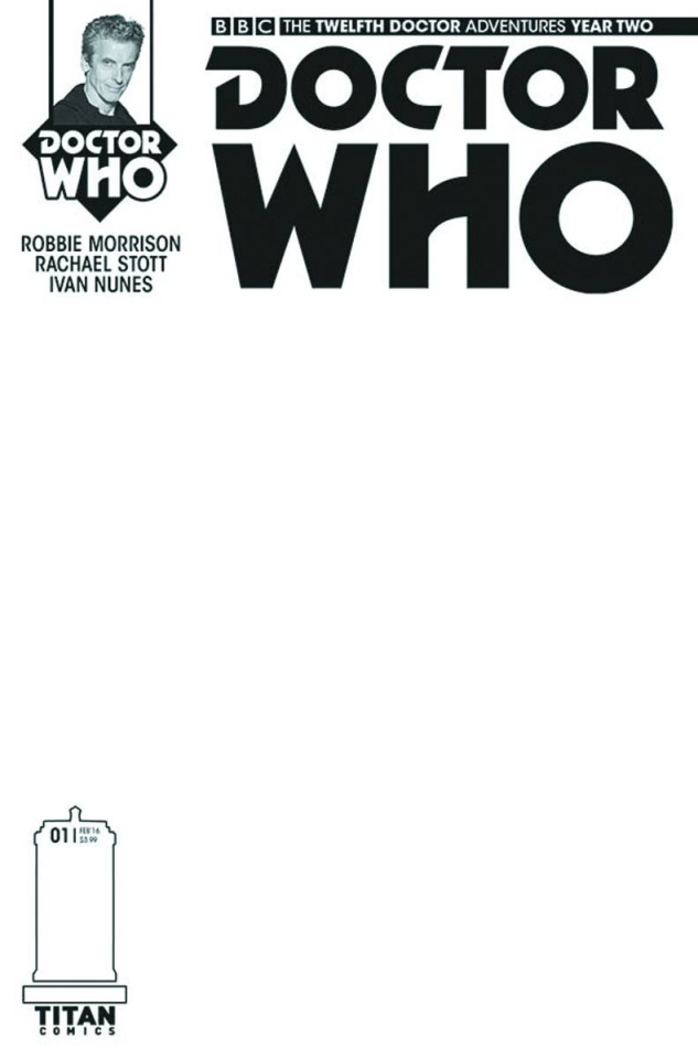Doctor Who: New Adventures with the Twelfth Doctor, Year Two #1 (Sketch Cover)