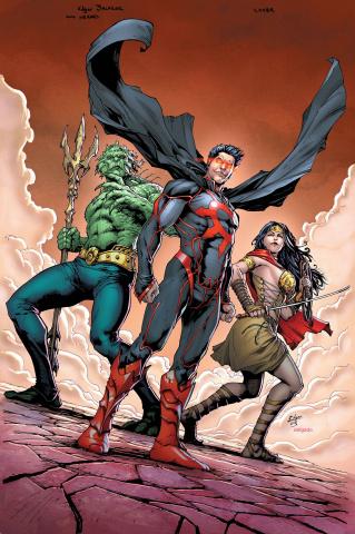 E.V.I.L. Heroes #6 (Salazar Cover)