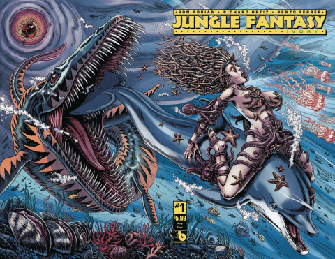 Jungle Fantasy: Ivory #1 (Wraparound Cover)