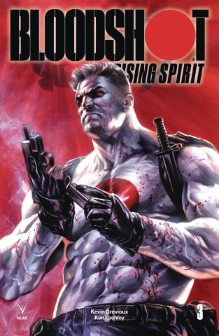 Bloodshot: Rising Spirit #3 (Massafera Cover)