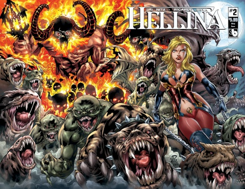 Hellina #2 (Wrap Cover)