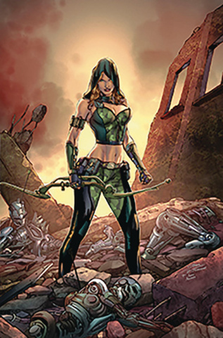 Robyn Hood: Vigilante #2 (Vitorino Cover)