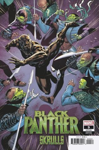 Black Panther #9 (Benjamin Skrulls Cover)