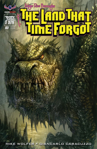 The Land That Time Forgot #3 (Painted Subscription Cover)