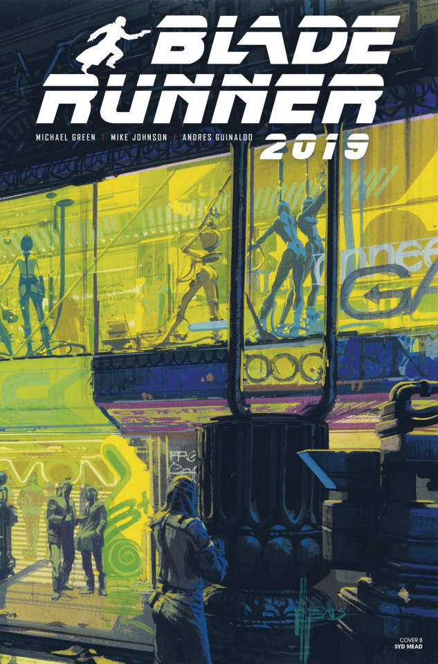 Blade Runner 2019 #4 (Mead Cover)