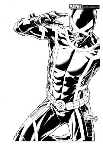 Uncanny X-Men #1 (Quesada Sketch Cover)