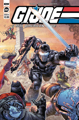G.I. Joe: A Real American Hero #284 (Freddie Williams II Cover)