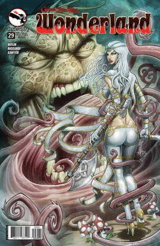 Grimm Fairy Tales: Wonderland #29 (El Tabanas Cover)