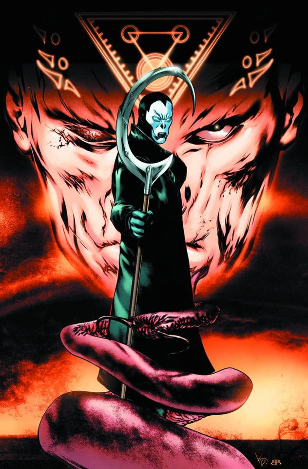 Shadowman #0 (Evans Cover)