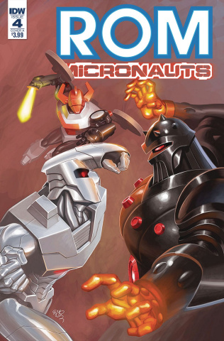 ROM & the Micronauts #4 (Su Cover)