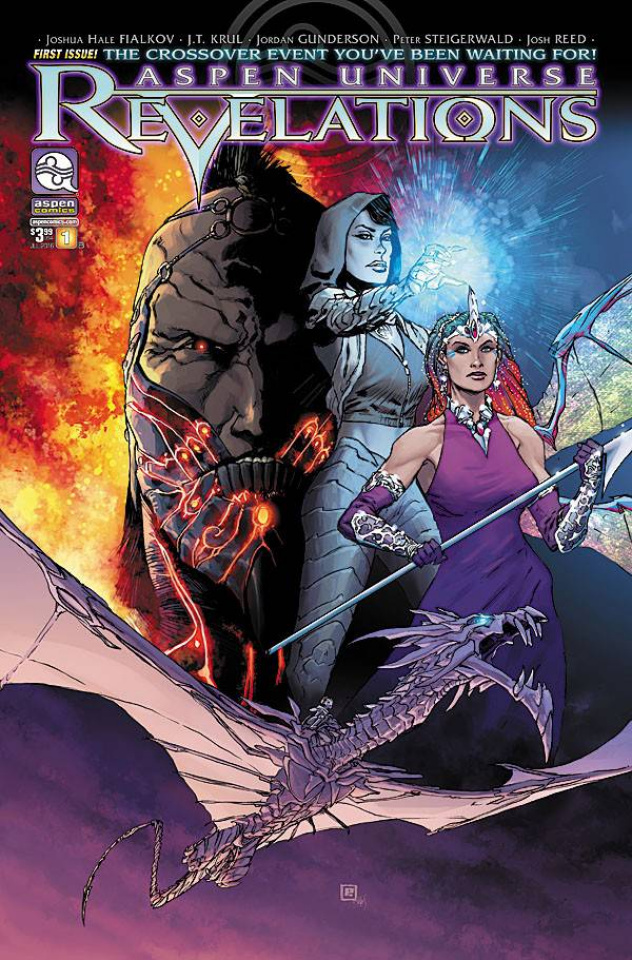Aspen Universe: Revelations #1 (Steigerwald Cover)