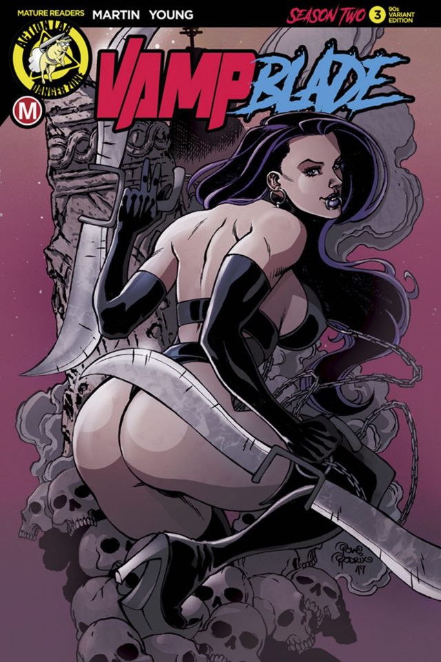 Vampblade, Season Two #3 (Rodrix Cover)