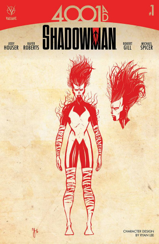 4001 AD: Shadowman #1 (10 Copy Character Design Lee Cover)