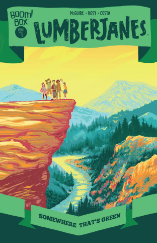 Lumberjanes: Somewhere Green #1 (Preorder Fish Cover)
