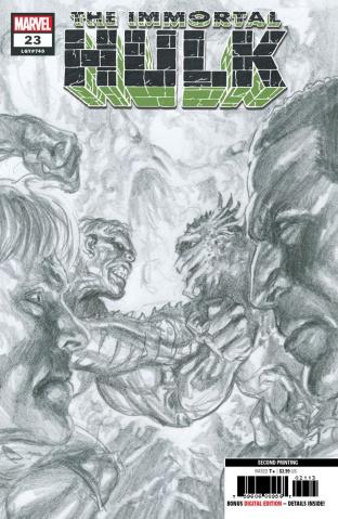 The Immortal Hulk #23 (Ross 2nd Printing)
