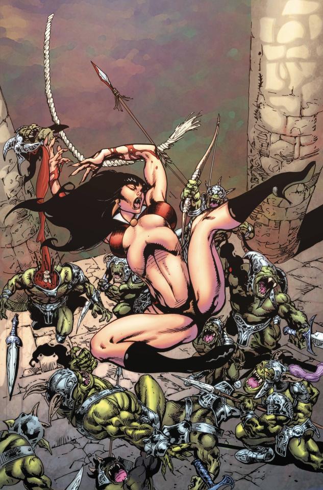 Vampirella #12 (7 Copy Castro Virgin Cover)