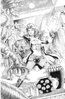 Grimm Fairy Tales: Van Helsing vs. The Mummy of Amun Ra #1 (Metcalf Cover)