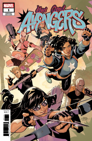 West Coast Avengers #1 (Dodson Cover)