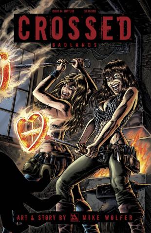 Crossed: Badlands #84 (Torture Cover)