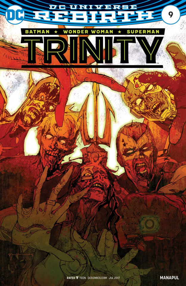 Trinity #9 (Variant Cover)