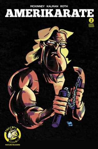 Amerikarate #2 (Massa Karate Commando Cover)