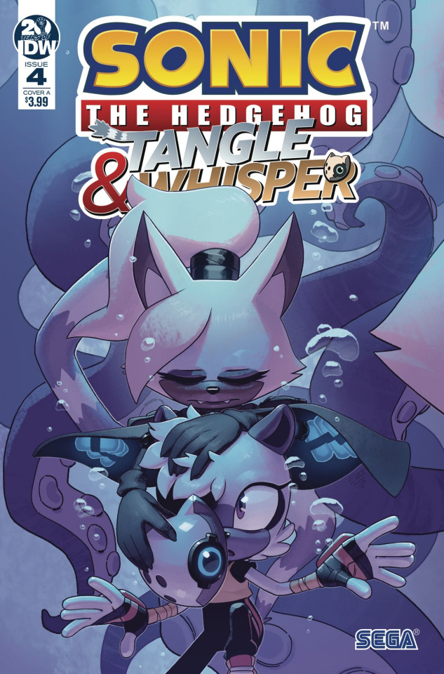Sonic the Hedgehog: Tangle & Whisper #4 (Stanley Cover)