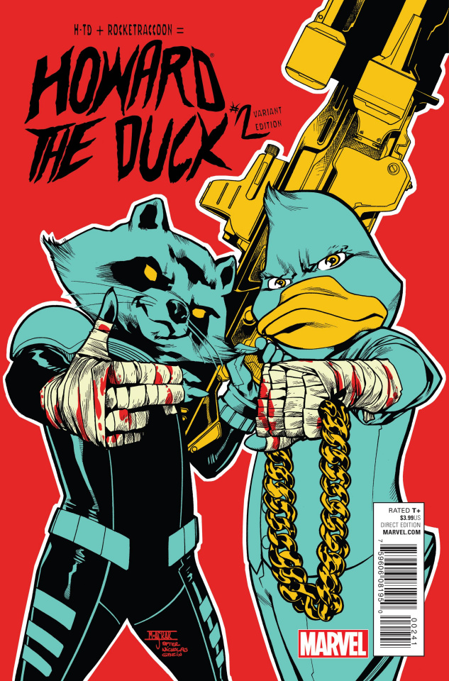 Howard the Duck #2 (Jewels Cover)