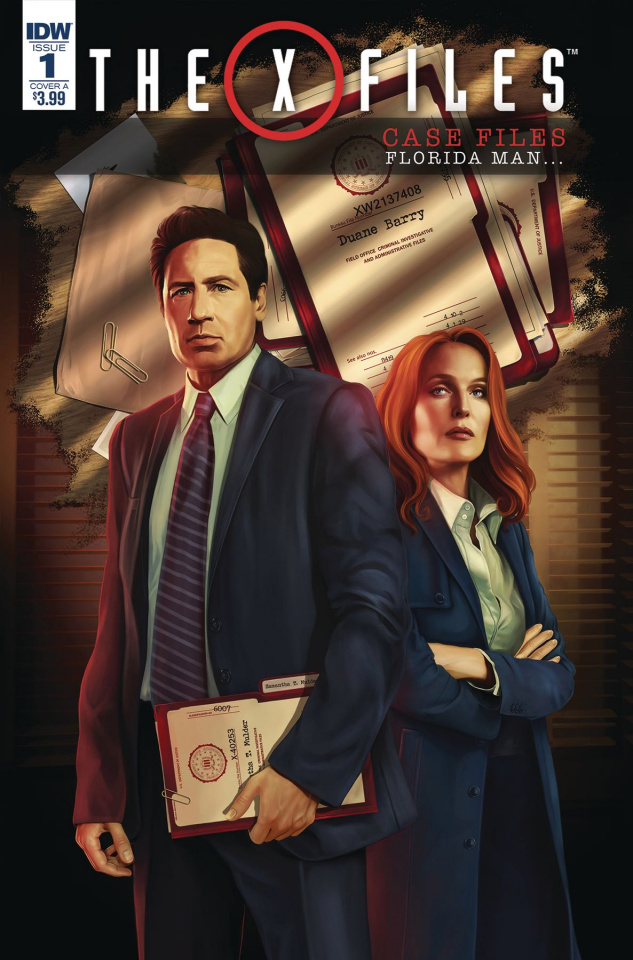 The X-Files Case Files: Florida Man #1 (Nodet Cover)