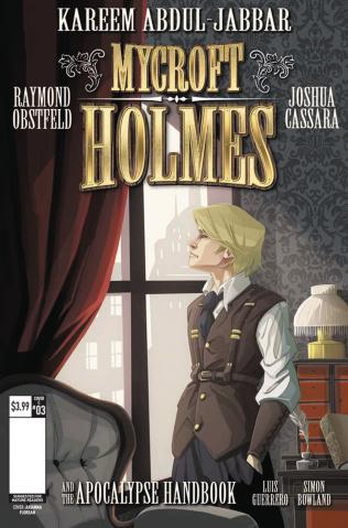 Mycroft Holmes #3 (Florean Cover)