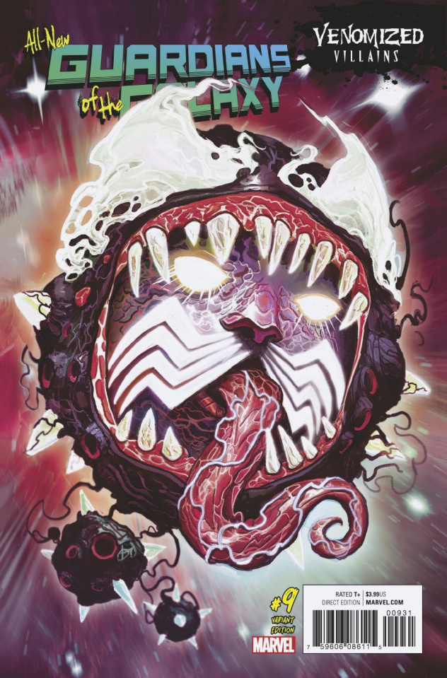 All-New Guardians of the Galaxy #9 (Venomized Ego Cover)