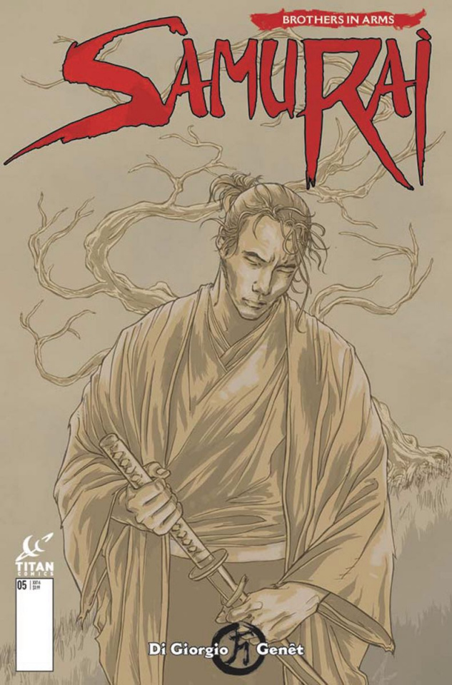 Samurai: Brothers in Arms #2 (Kurth Cover)