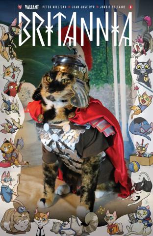Britannia #4 (Cat Cosplay Cover)