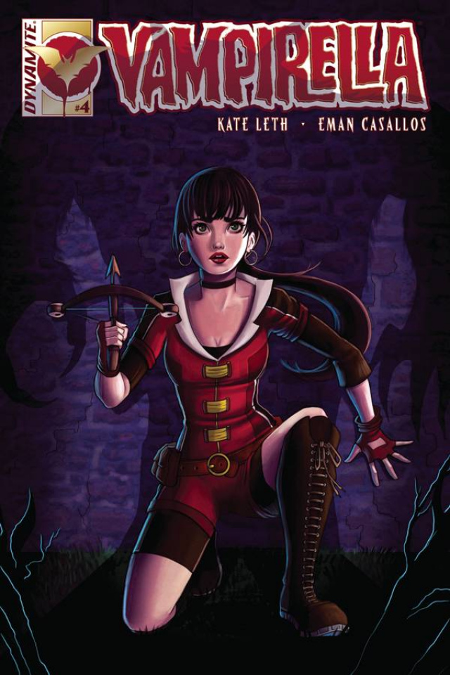 Vampirella #4 (Zullo Cover)