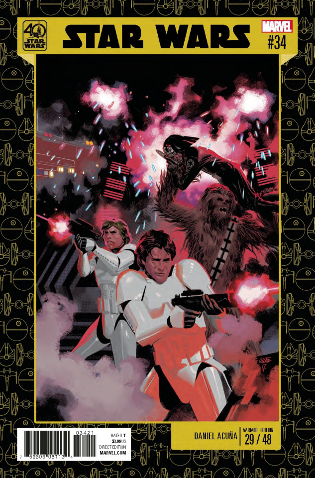 Star Wars #34 (Acuna Star Wars 40th Anniversary Cover)