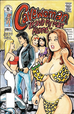 Cavewoman: Leave My Man Alone! #1 (Massey Cover)