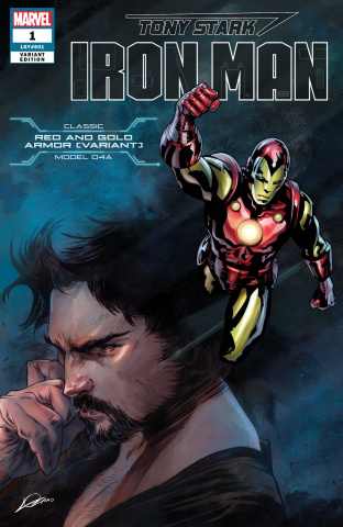 Tony Stark: Iron Man #1 (Nose Armor Cover)