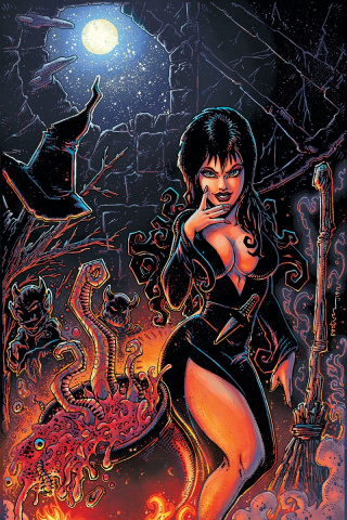 Elvira: Mistress of the Dark #9 (25 Copy Eastman Virgin Cover)