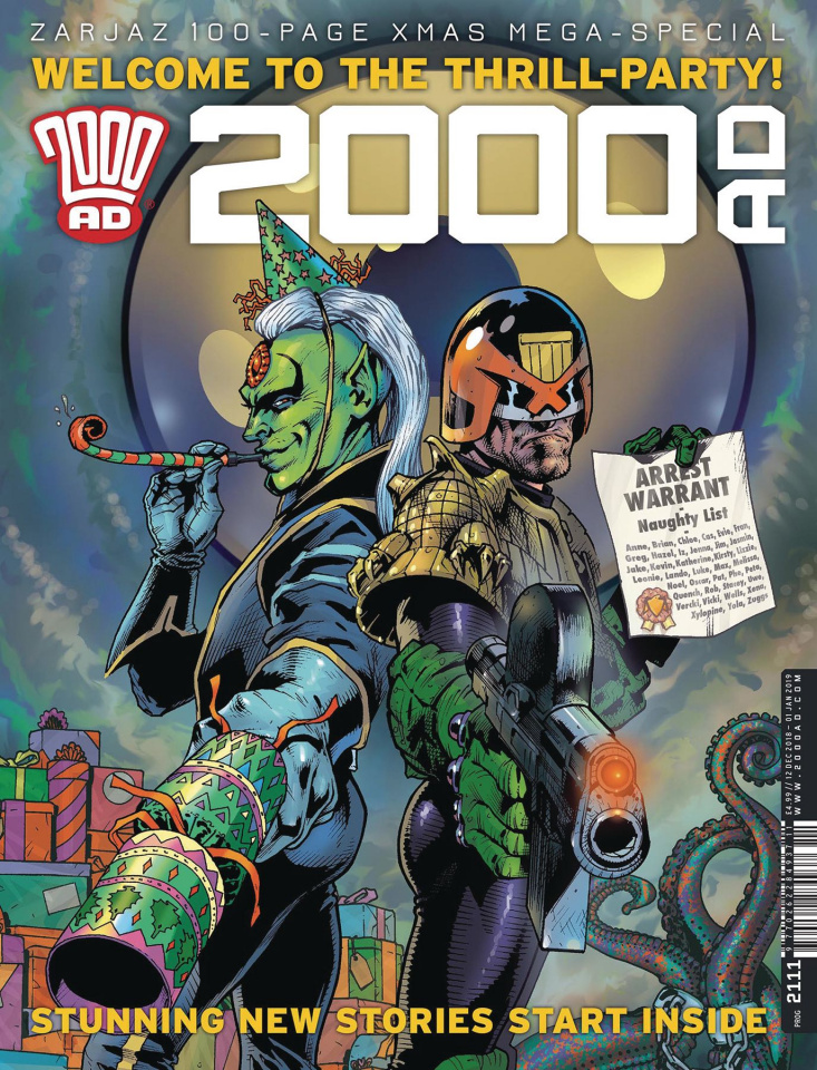 2000 AD Prog #2162: X-Mas Special