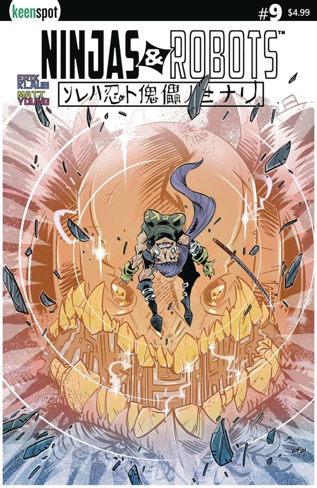 Ninjas & Robots #9 (Horsman Cover)