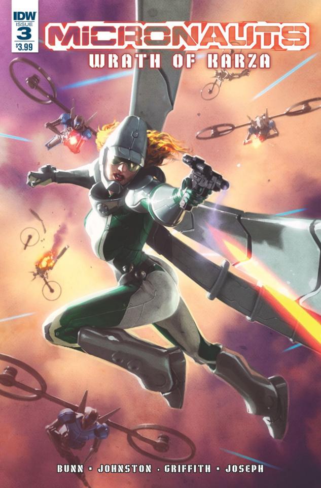 Micronauts: Wrath of Karza #3