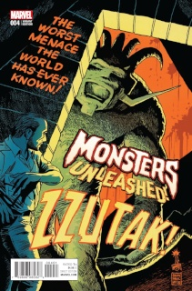 Monsters Unleashed! #4 (Francavilla '50s Movie Poster Cover)