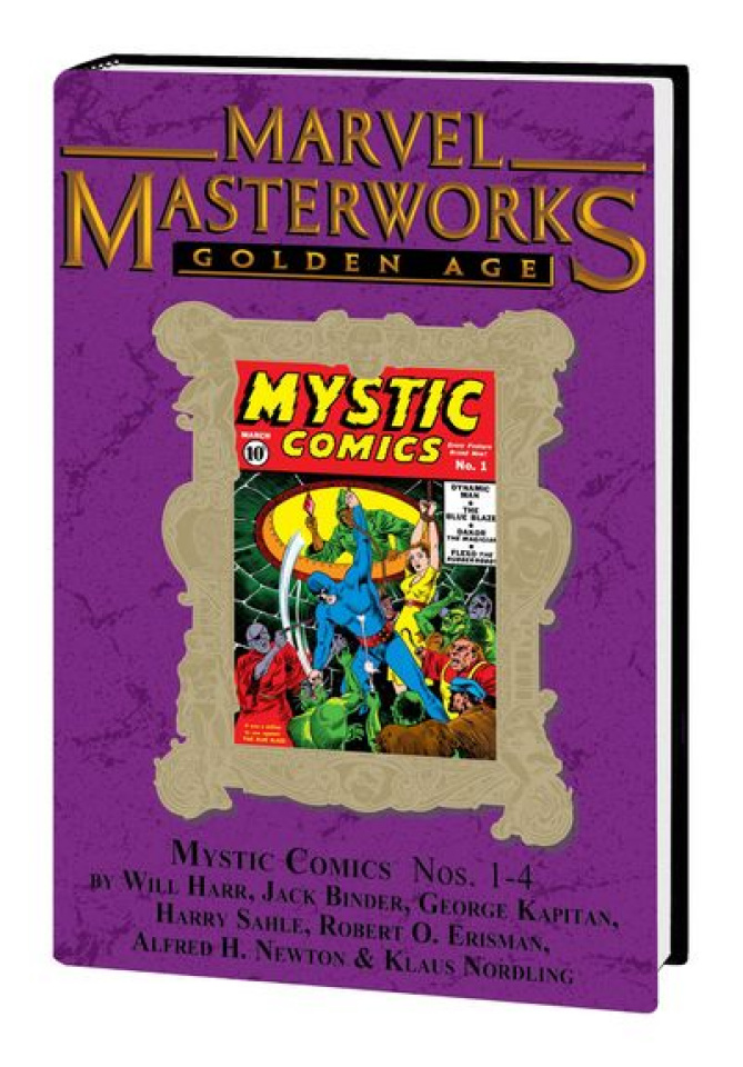 Marvel Masterworks: Golden Age Mystic Comics Vol. 1 (Variant)