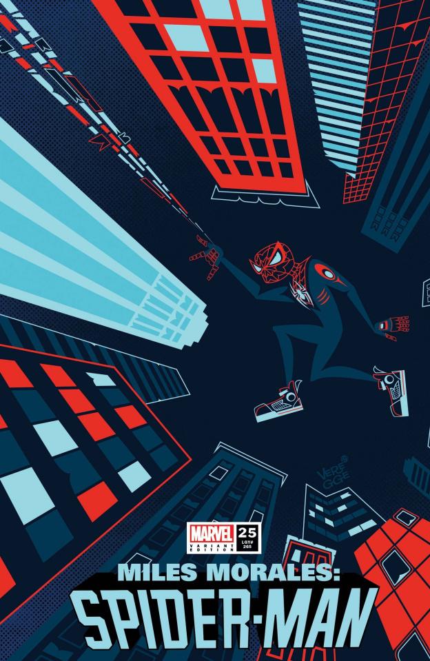 Miles Morales: Spider-Man #25 (Veregge Cover)