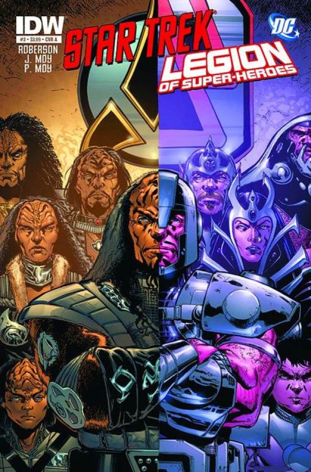 Star Trek / The Legion of Super Heroes #3