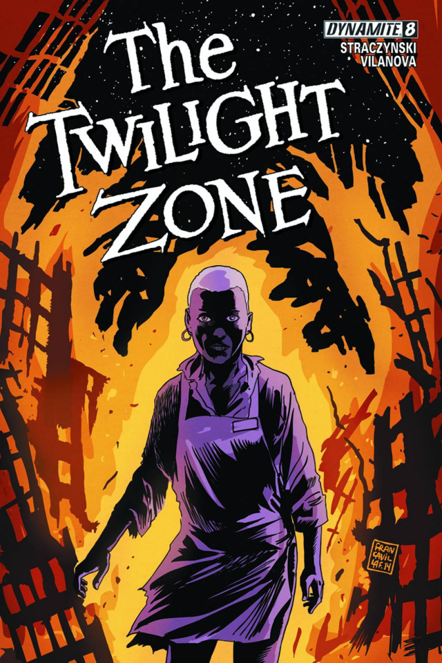 The Twilight Zone #8 (50 Copy Francavilla Virgin Cover)